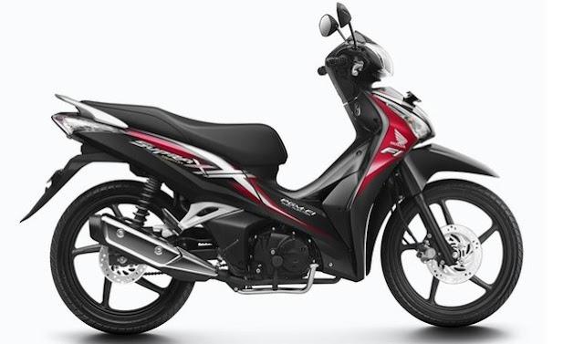 Sepeda Motor Supra X 125 Helm In