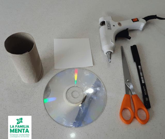 Materiales para hacer un espectroscopio casero