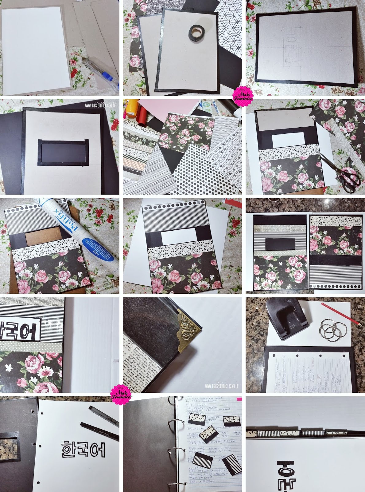 Diy: Customizando caderno argolado