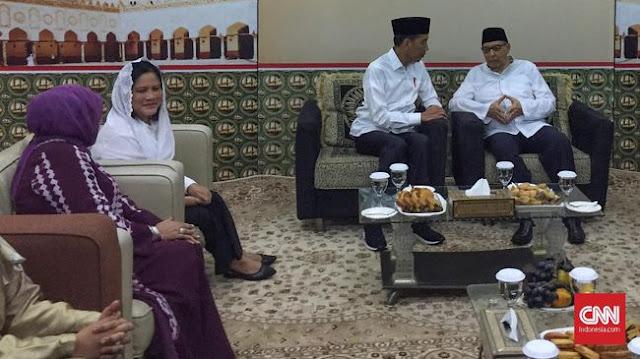 Silaturrahim ke Quraish Shihab, Jokowi Diskusi Islam Moderat