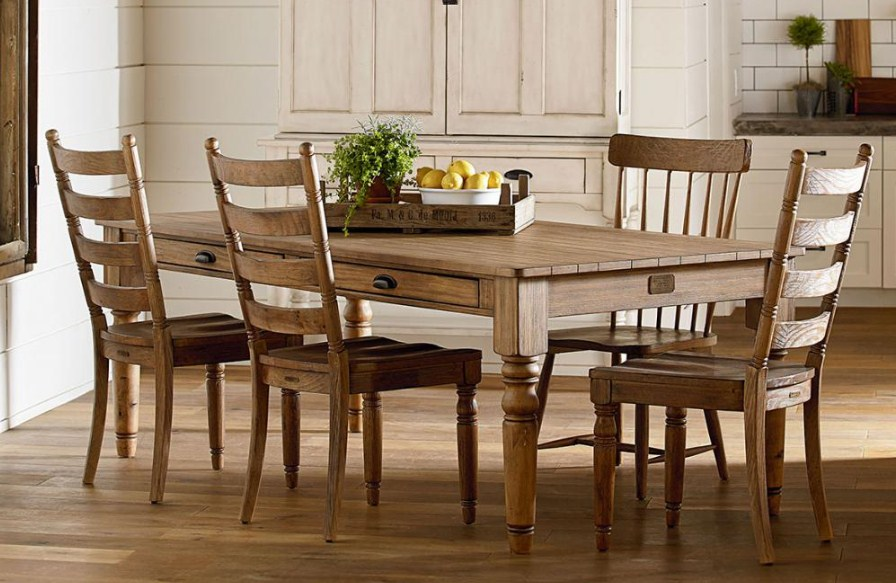 Meja makan kayu jati minimalis terbaru