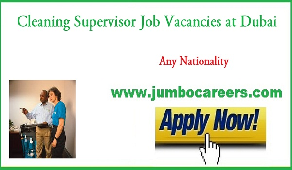 Dubai supervisor jobs for Indians, Find all new vacancies in UAE,