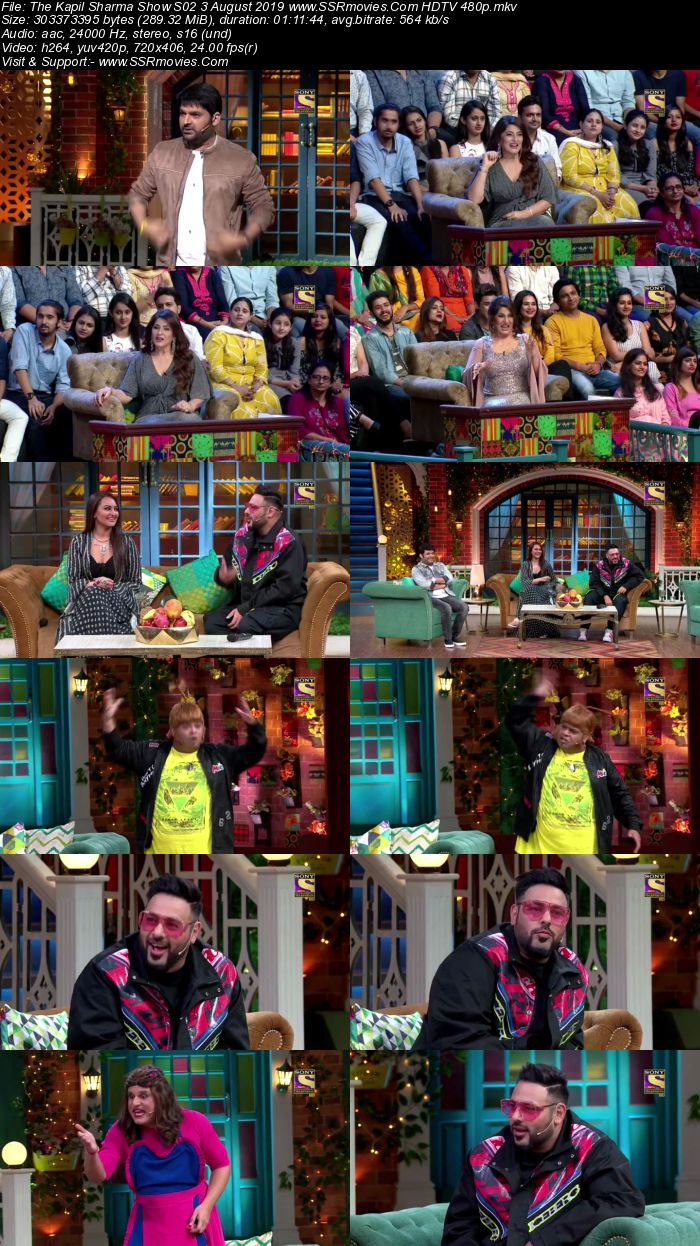 The Kapil Sharma Show S02 3 August 2019 Full Show Download HDTV HDRip 480p
