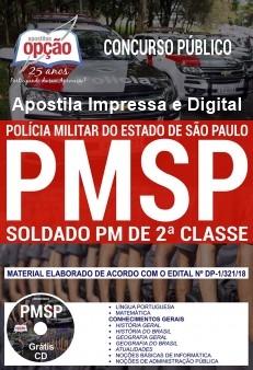 Apostila PM SP Soldado de 2º Classe 2018
