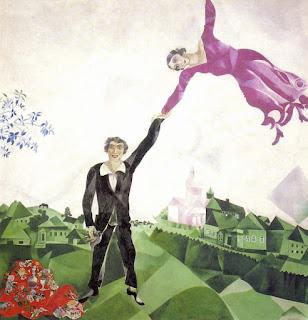 Марк Шагал. Прогулка. 1918