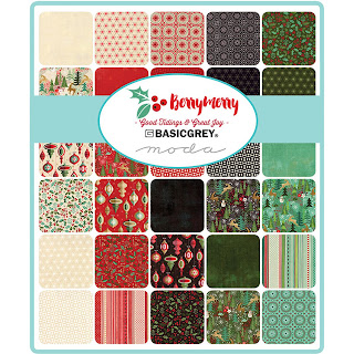Moda Berry Merry Fabric by Basic Grey for Moda Fabrics