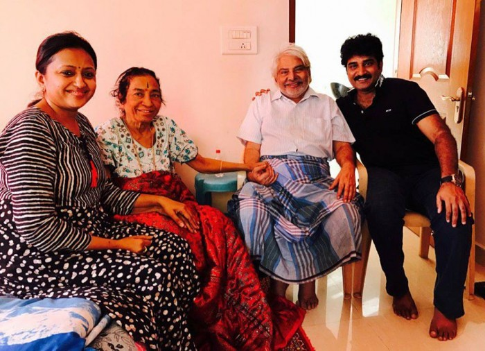 Rajeev Kanakala's mother breathes her last