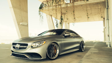 Mercedes S63 Coupe AMG HD