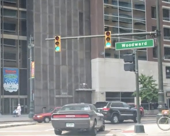 Woodward Ave. Detroit Downtown