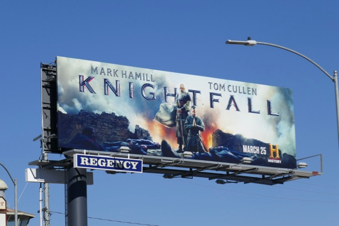 Knightfall season 2 History billboard