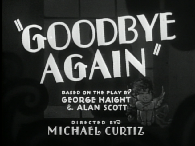 Goodbye Again (1933)