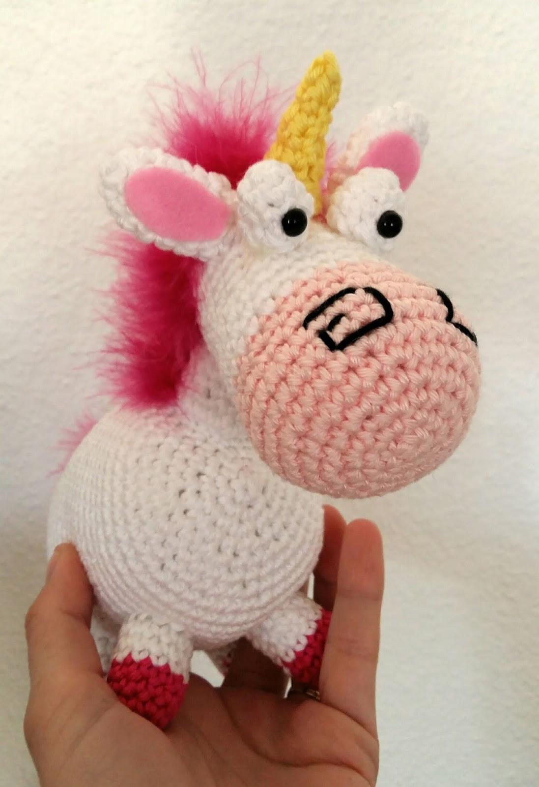 Populaire Fée du tricot: La licorne de la petite Agnès au crochet *tuto inside* XT15