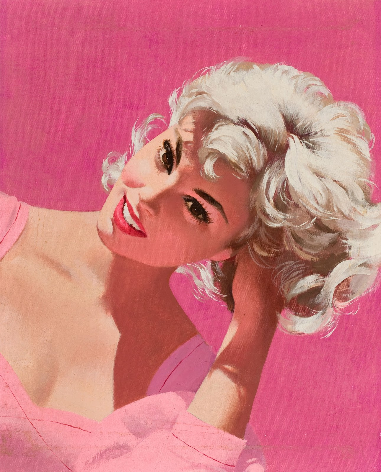 Jon Whitcomb Magazine cover, c. 1960