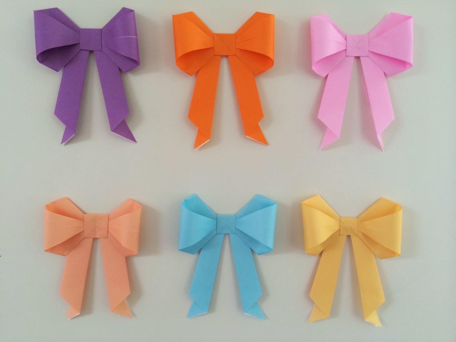 Random Crafting Adventures: Origami Bows - photo#14