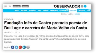 http://observador.pt/2017/02/16/fundacao-ines-de-castro-premeia-poesia-de-rui-lage-e-carreira-de-maria-velho-da-costa/