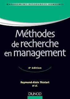 Livre: Méthode de recherche en management