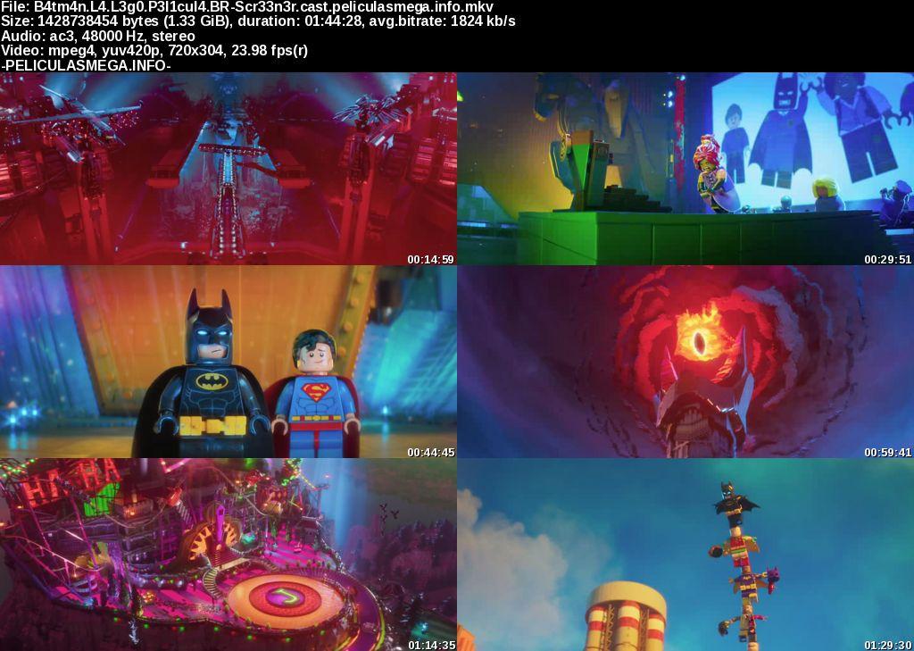Descargar Batman: La LEGO película Castellano por MEGA.