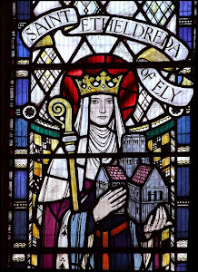 Dedicated to St. Etheldreda: Abbess of Ely