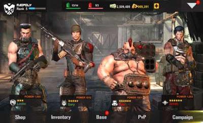 Dead Warfare Zombie MOD Apk v1.2.77