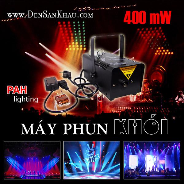 Máy Phun Khói 400W cho chất lượng ổn định, hiệu quả ở mức tốt và giá cả hợp lý.