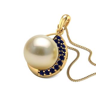 Sapphire Pendant- Zaamor Diamonds