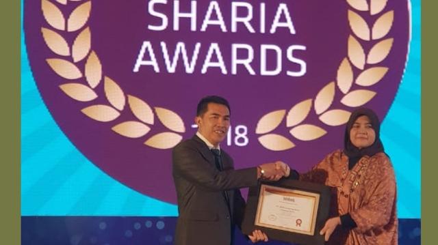 BPRS Lampung Barat Raih Anugerah Infobank Sharia Award