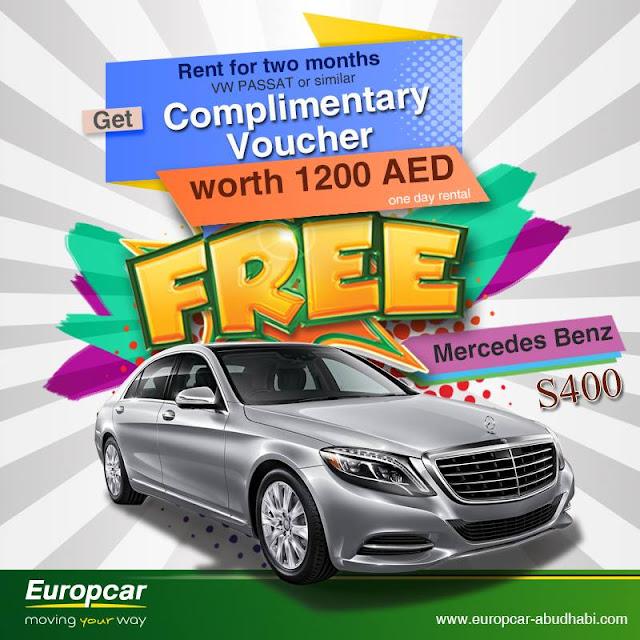 Europcar Abu Dhabi Rent And Enjoy Free Rewards With Europcar Rent