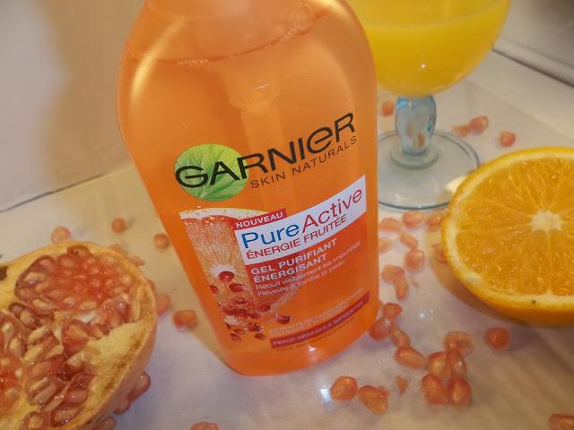 Gel Purifiant Énergisant Pure Active Énergie Fruitée - Garnier