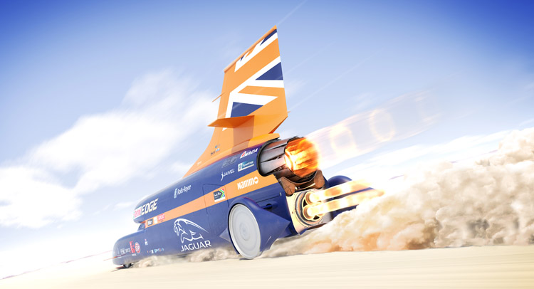 Bloodhound SSC Going For World Land Speed Record In October 2017