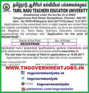 tnteu-registrar-post-recruitment-www-tngovernmentjobs-in