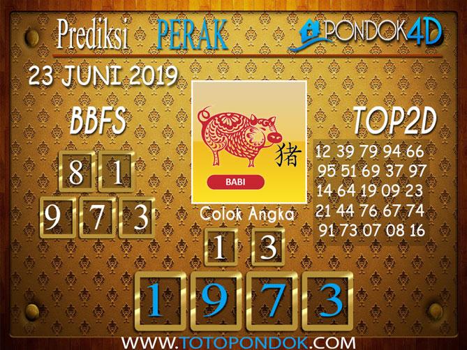 Prediksi Togel PERAK PONDOK4D 23 JUNI 2019