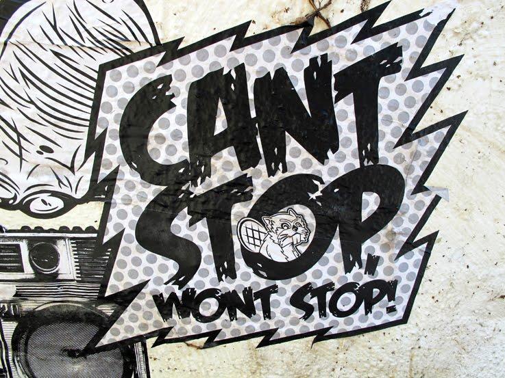 MELROSEandFAIRFAX: Can't Stop, Won't Stop Street Art