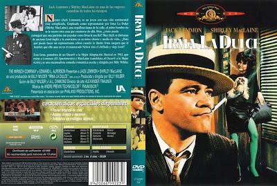Cover, caratula, dvd: Irma la dulce | 1963 | Irma la Douce