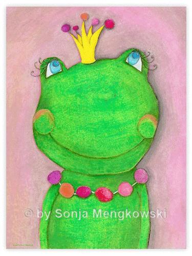 Kinderzimmer Bild: Die Froschkönigin