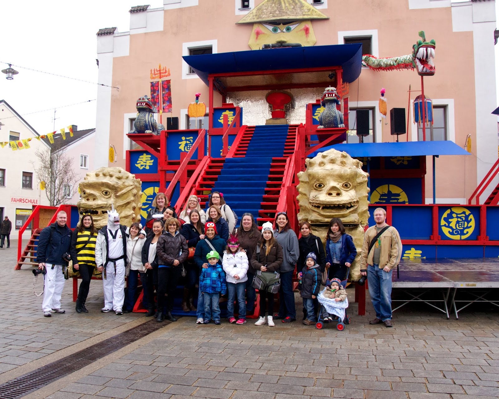 Francois Illas New Tradition: Our Army Life (according To The Wife!): Chinese Fasching