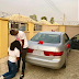 Woman Kneels To Thank Her Husband After He Gifts Her A Car On Val's Day