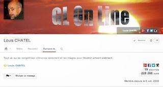 Louis CHATEL sur Youtube
