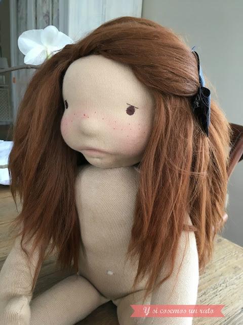 pelo de muñeca alpaca