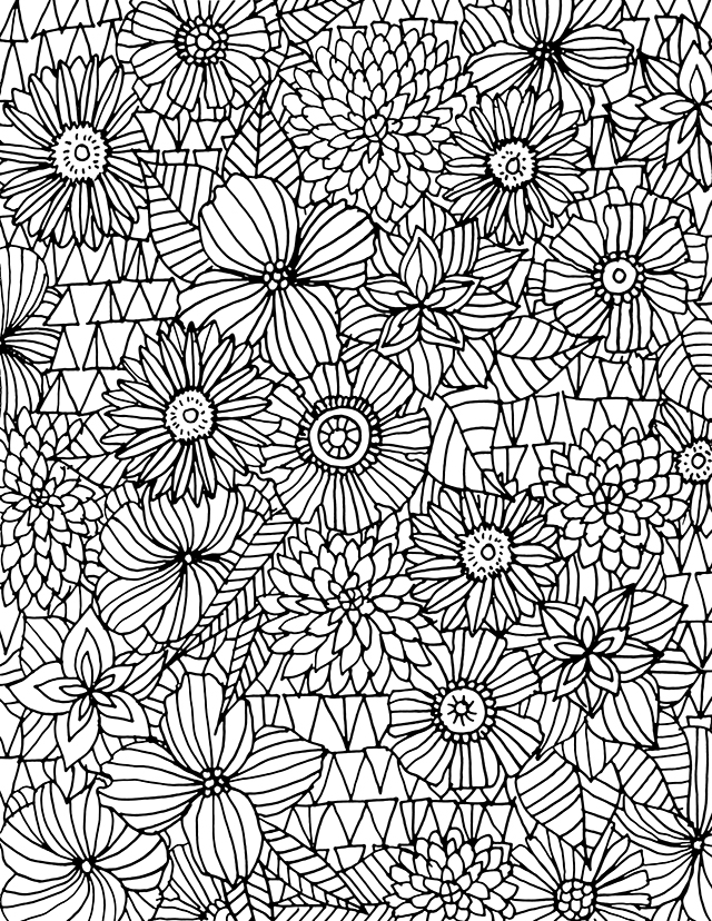 line patterns coloring pages - photo#17