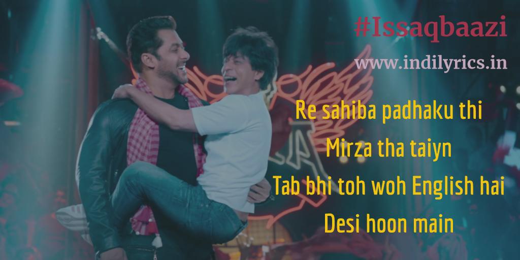 Issaqbaazi Se | Zero | Ft  Shah Rukh Khan & Salman Khan | Song