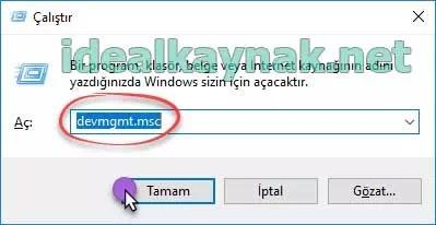 Windows Ekran Parlaklığı Değişmeme Sorunu