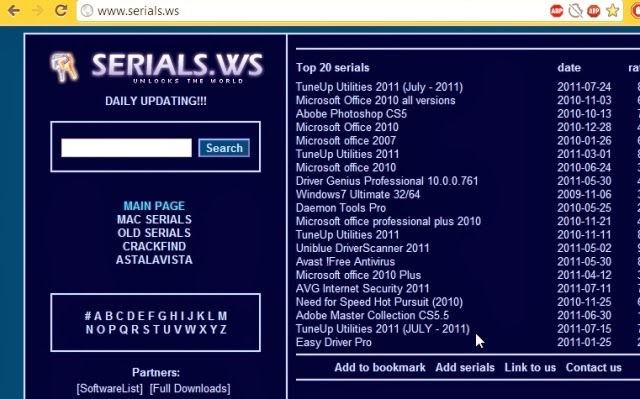 Tempat Mencari Serial Number, Product Key, Crack Software/Program