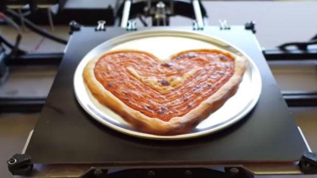 Pizza NASA impresora 3D