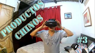 UNBOXING | Gafas Realidad Virtual |  Productos Chinos # 3