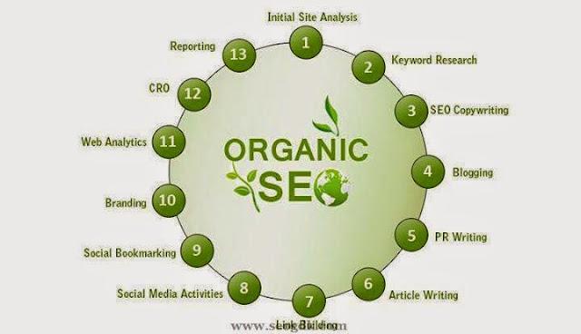 Organic SEO Ingredients