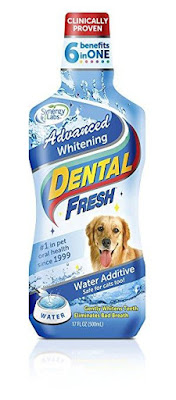 Dung dịch Dental Fresh trắng răng cho chó