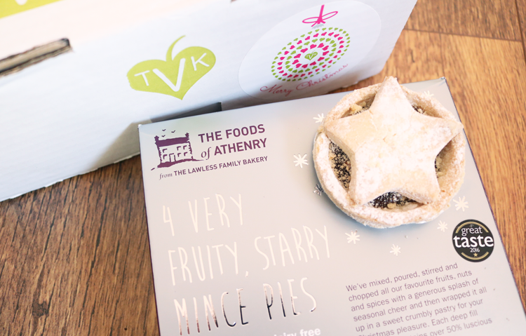Foods of Athenry Very Fruity Starry Mince Pies