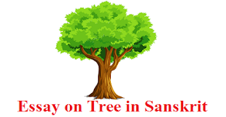 Essay on Tree in Sanskrit