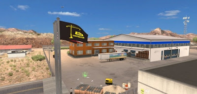 American Truck Simulator MHAPro map mod 1.2 for ATS Map Download MODs