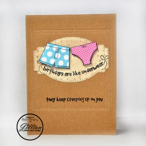 Beth Pingry - Birthday Underwear card